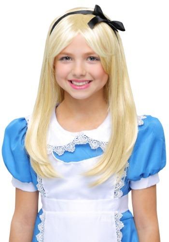Deluxe Alice Child Wig