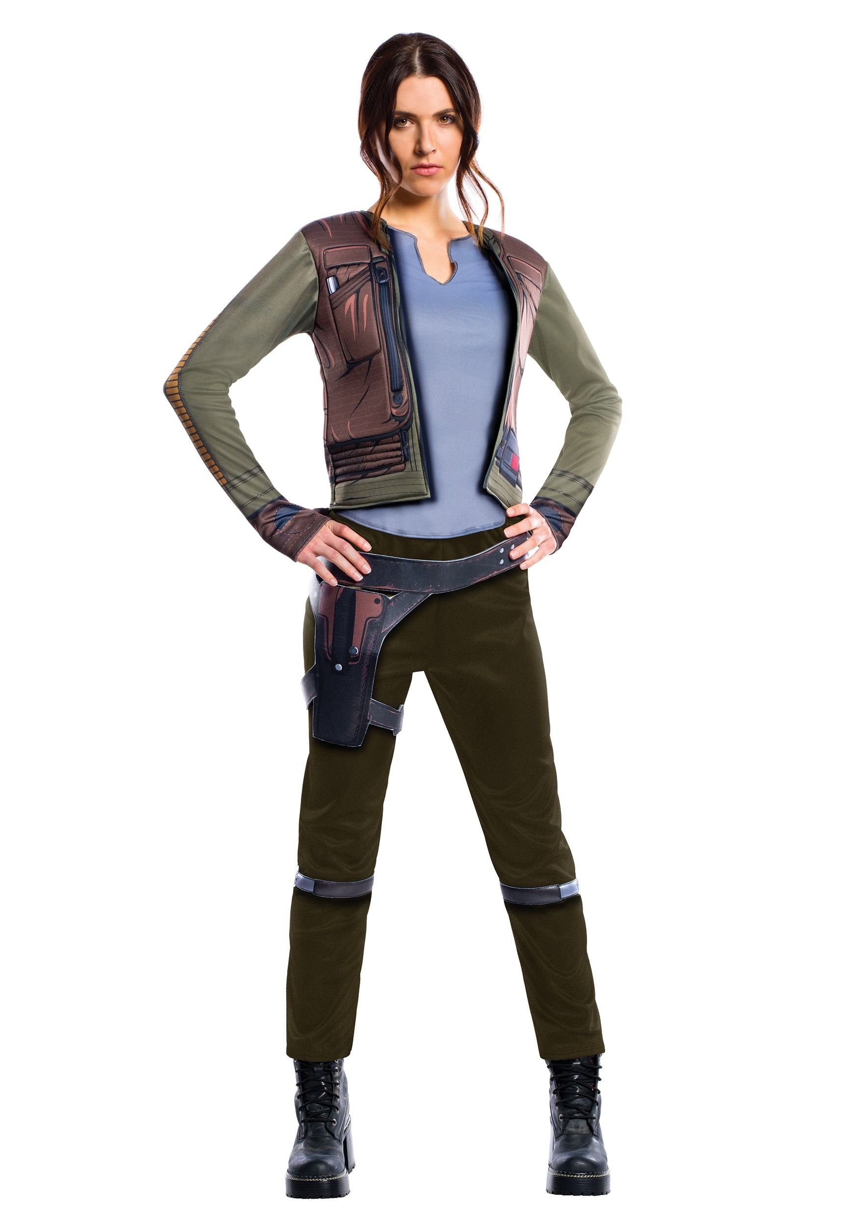 Women's Adult Deluxe Jyn Erso Costume From Star Wars: Rogue One