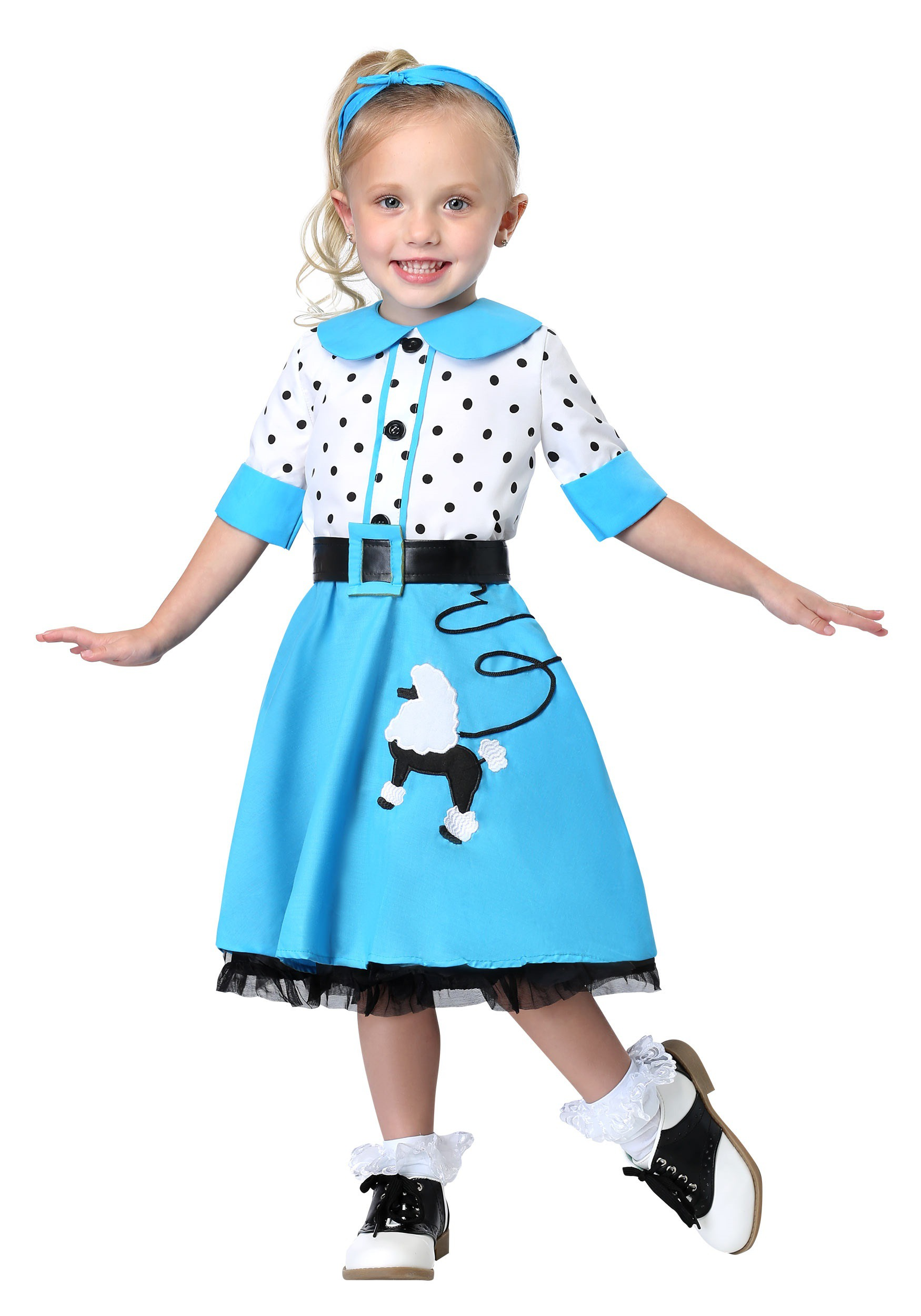 Sock Hop Cutie Costume For Toddlers