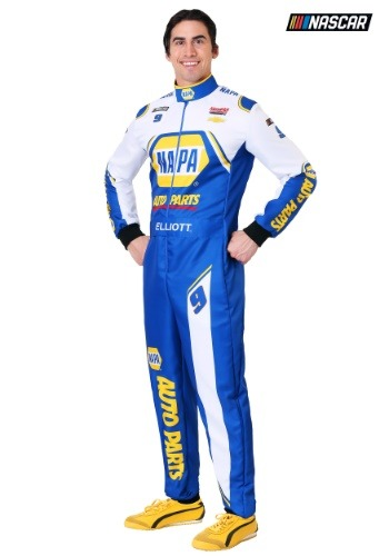 NASCAR Chase Elliott Men's Plus Uniform Costume