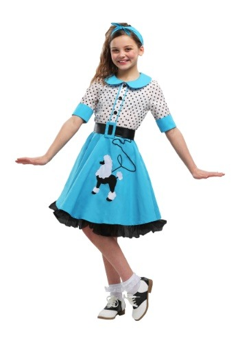 Sock Hop Cutie Girls Costume