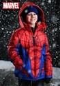 Child Spider-Man Puffer Superhero Jacket