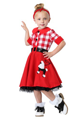 50s Darling Toddler Costume