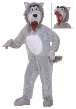 Plush Storybook Wolf Costume