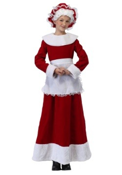Girls Mrs. Claus Costume