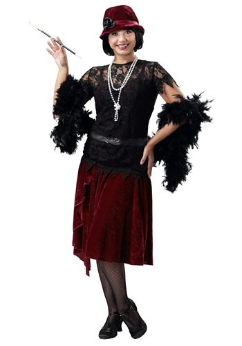 Toe Tappin' Flapper Plus Size Women's Costume