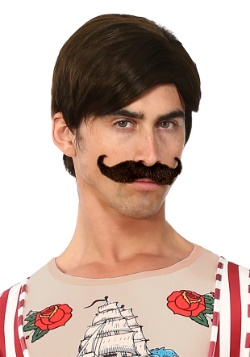 Men's Strongman Wig and Mustache