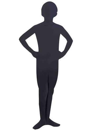 Child Black Skin Suit
