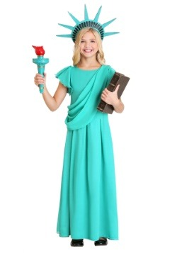 Girl's Statue of Liberty Costume