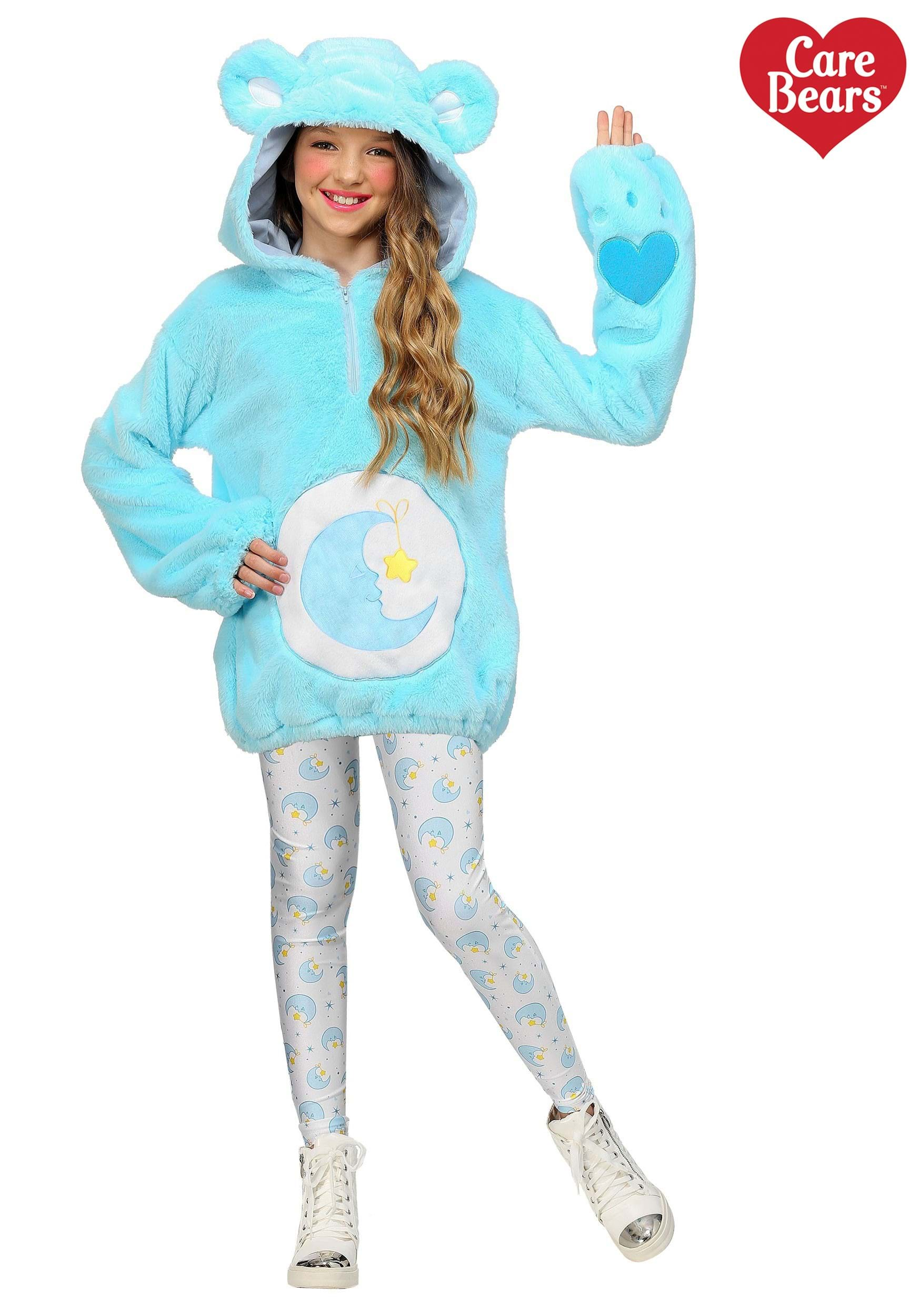Care Bears Deluxe Bedtime Bear Hoodie Costume for Tweens