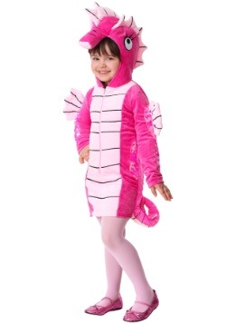 Toddler Girl's Seahorse Costume