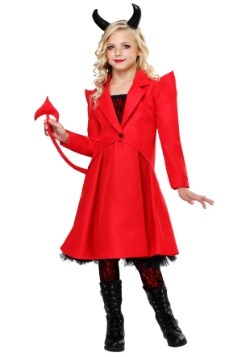 Devilish Diva Girls Costume
