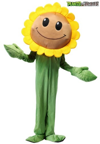Plants Vs. Zombies Kids Sunflower Costume