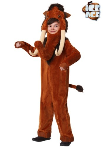 Manny the Mammoth Childrens Costume