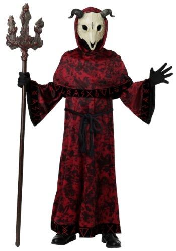 Kids Evil Skull Demon Costume