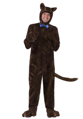 Adult Deluxe Brown Dog Costume