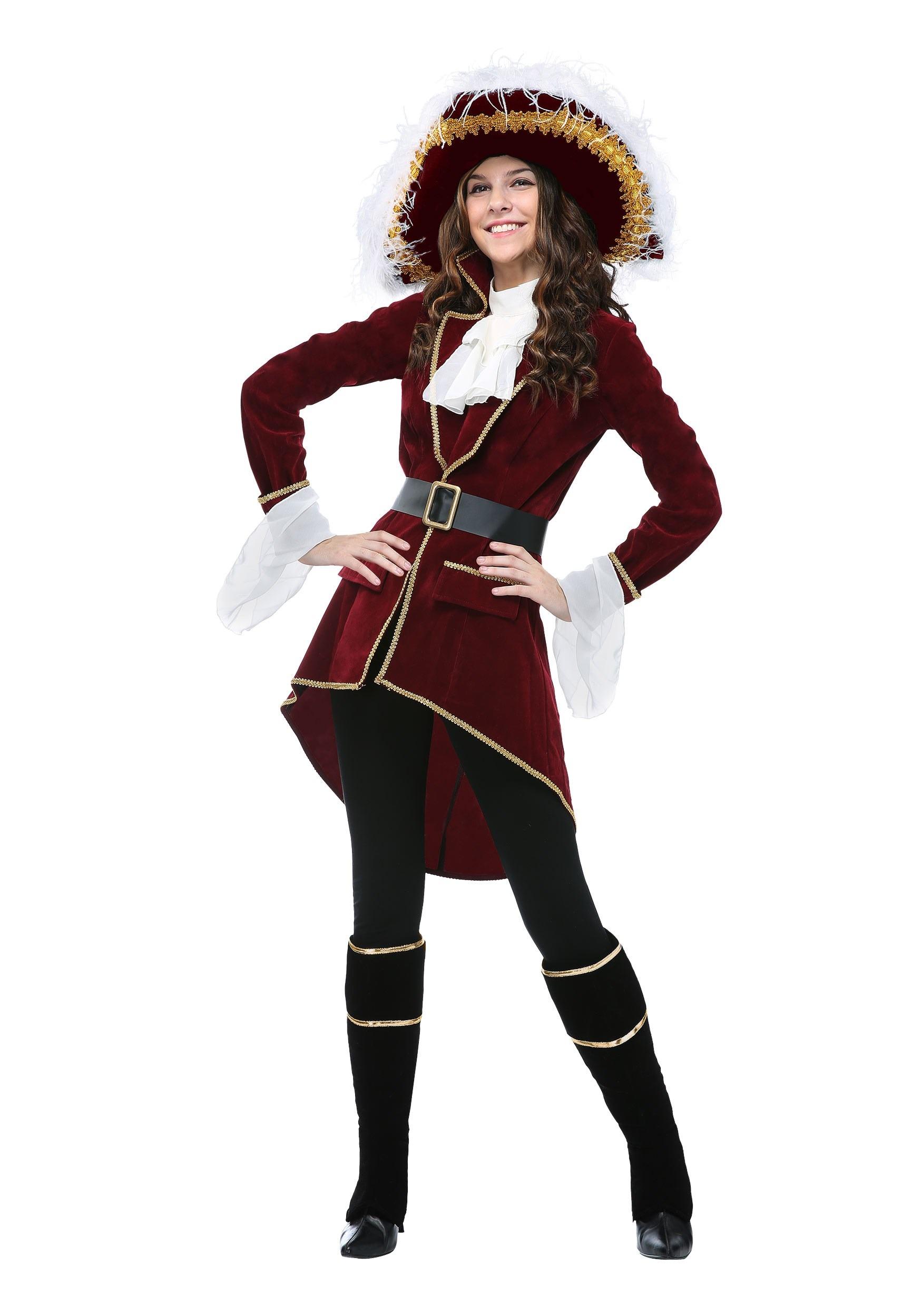 Captain Hook Women S Plus Size Costume