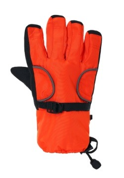 Child Orange Astronaut Gloves