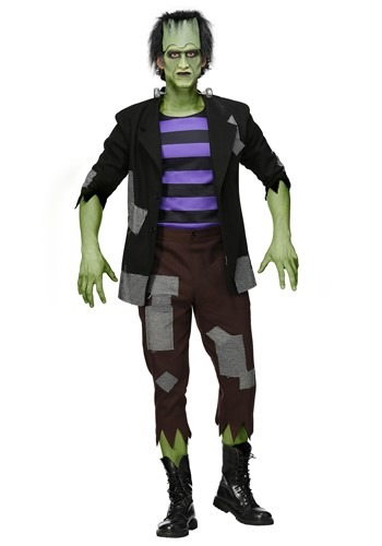 Men's Plus Size Frankenstein's Monster