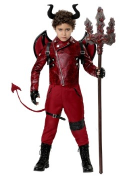 Child Dangerous Devil Costume