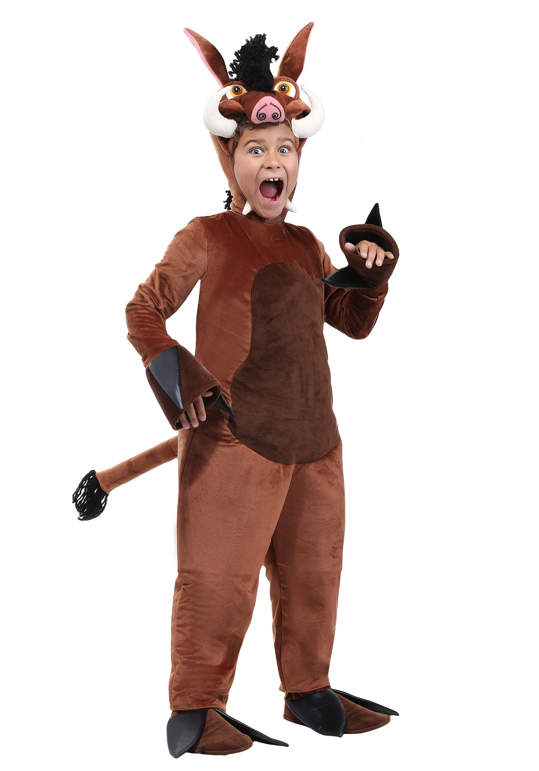 INOpets.com Anything for Pets Parents & Their Pets Warthog Costume for Children