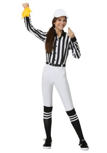 Women's Plus Referee Costume