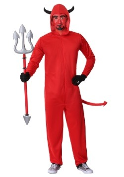 Adult Devil Jumpsuit Costume