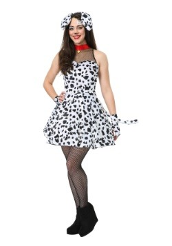 Flirty Dalmatian Womens Costume