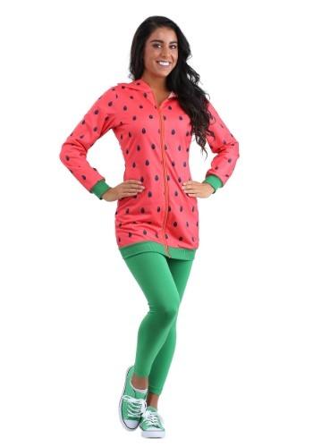 Watermelon Hoodie Dress