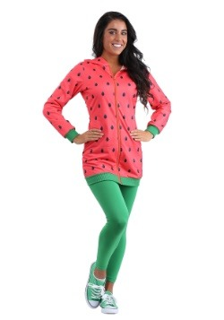 Watermelon Hoodie Dress