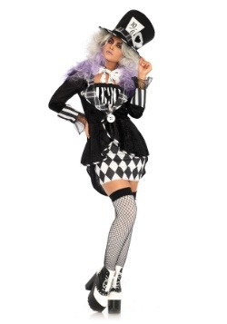 Dark Mad Hatter Womens Costume