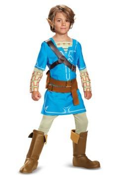 Legend of Zelda Breath of the Wild Link Deluxe Boys Costume