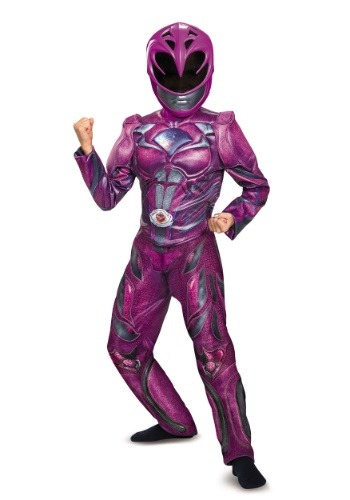 Pink Ranger Child Movie Deluxe Costume