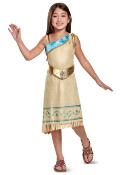 Girls Pocahontas Deluxe Costume