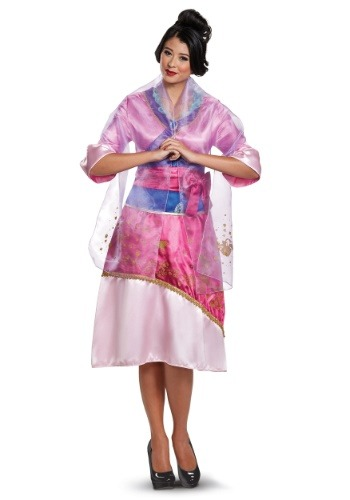 Disney Mulan Deluxe Womens Costume