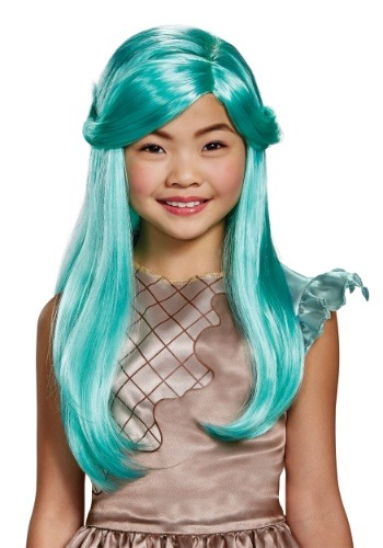 Girls Peppa-Mint Wig