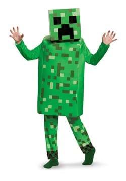Minecraft Creeper Deluxe Costume Boys