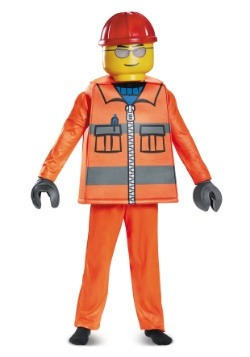 LEGO Construction Worker Deluxe Boys Costume