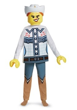 Lego Cowgirl Deluxe Child Costume