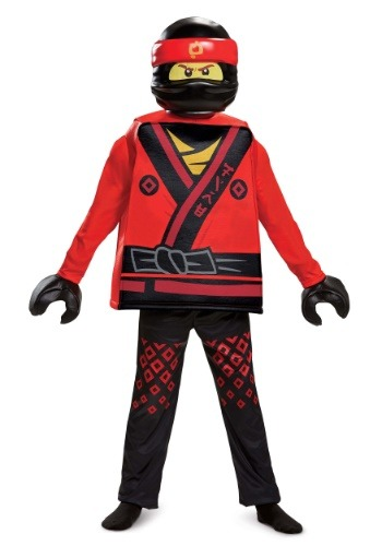 Ninjago Movie Kai Deluxe Boys Costume