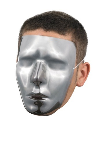 Blank Male Chrome Mask