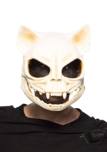 Cat Skull Adult Mask
