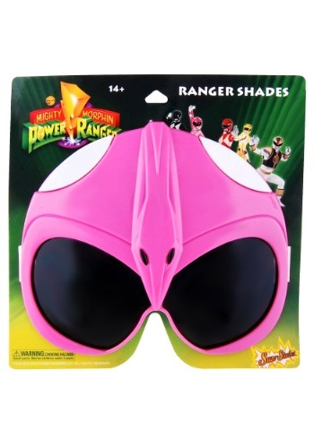 Pink Power Rangers Character Sunglasses