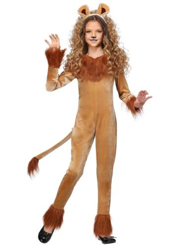 Girl's Fierce Lion
