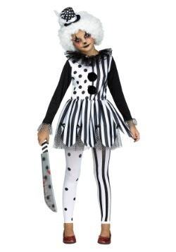 Killer Clown Girls Costume