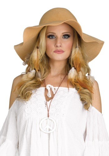 Adult 70's Floppy Hat