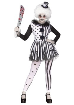 Women's Killer Clown Costume