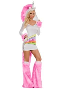 Women's Rainbow Unicorn Costume