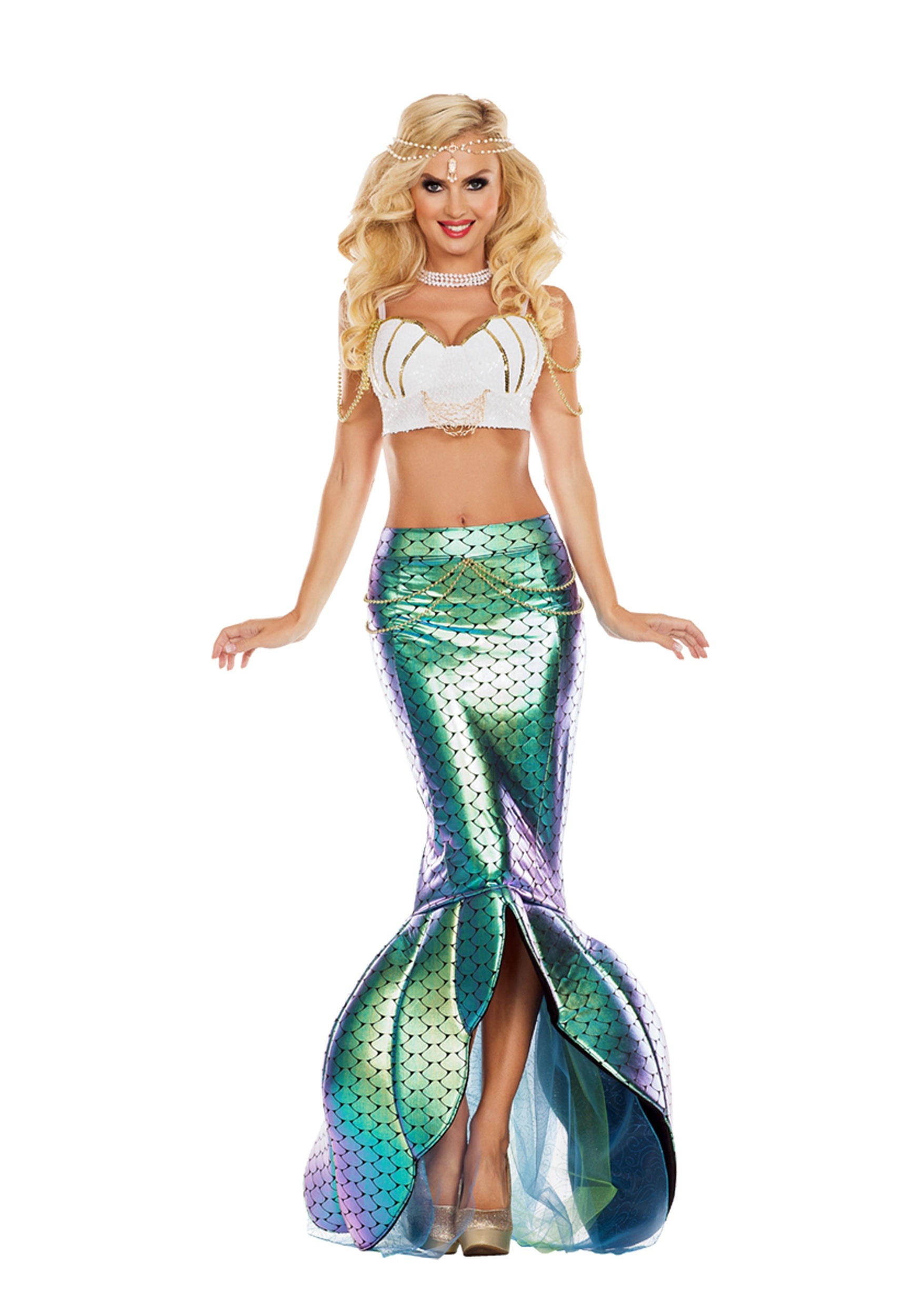 Under the Sea Mermaid Costume for Women