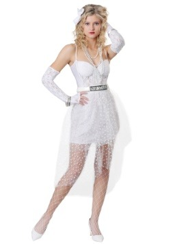 Women's Like a Virgin Popstar Costume